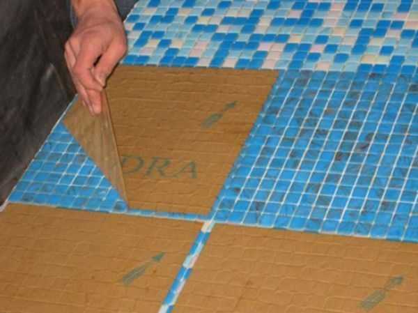 Укладка мозаики: технология и нюансы работ   строй советы