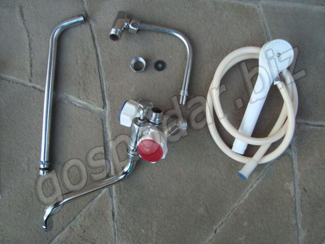 дровяной водонагреватель для душа