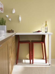 Раскладной стол для маленькой кухни: виды и правила выбора