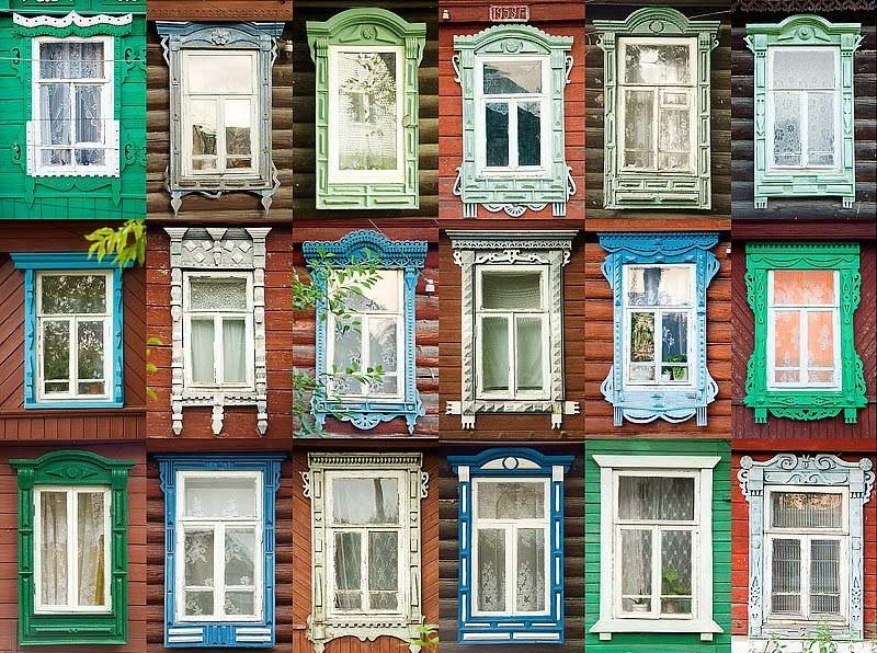 наличники на окна в деревянном доме фото