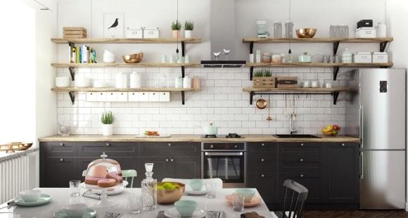 Дизайн кухни в скандинавском стиле (80 фото) — идеи интерьеров