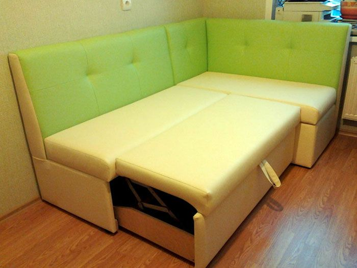 кухонный уголок раскладной со спальным местом