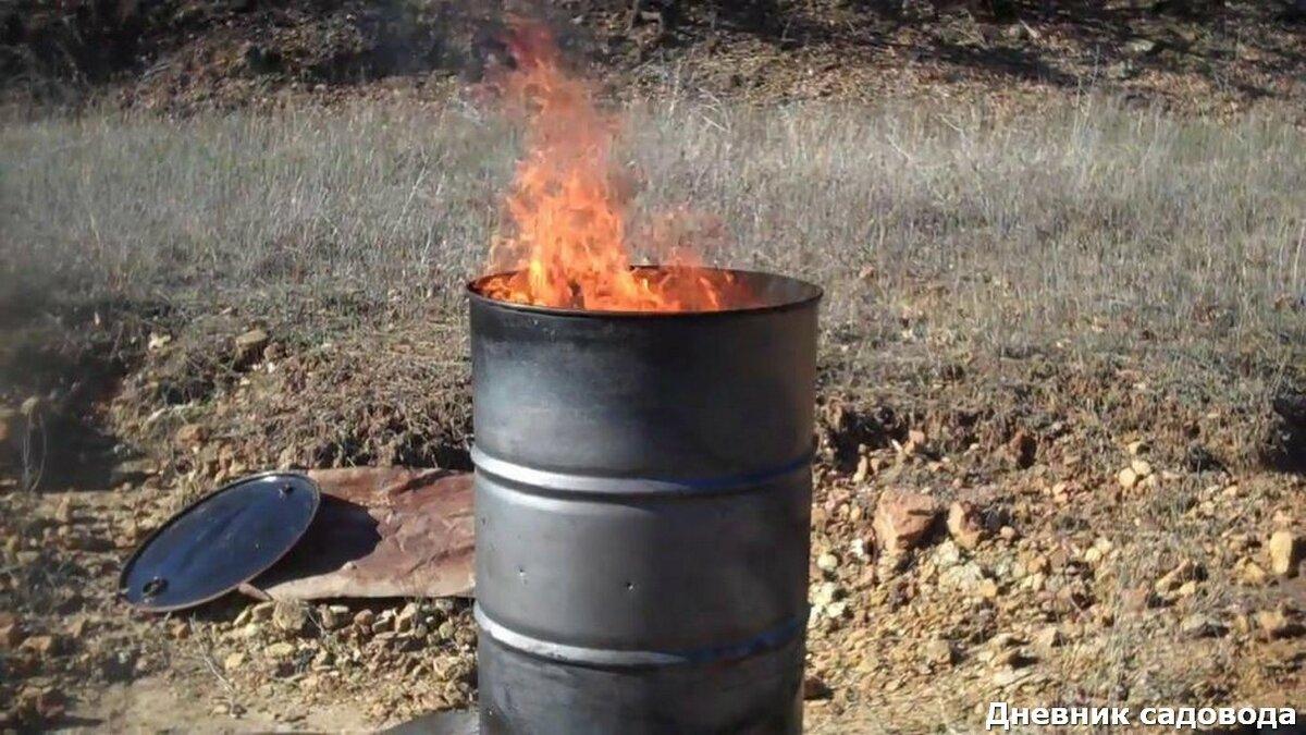 Можно ли сжигать мусор на своем участке | sovetguru