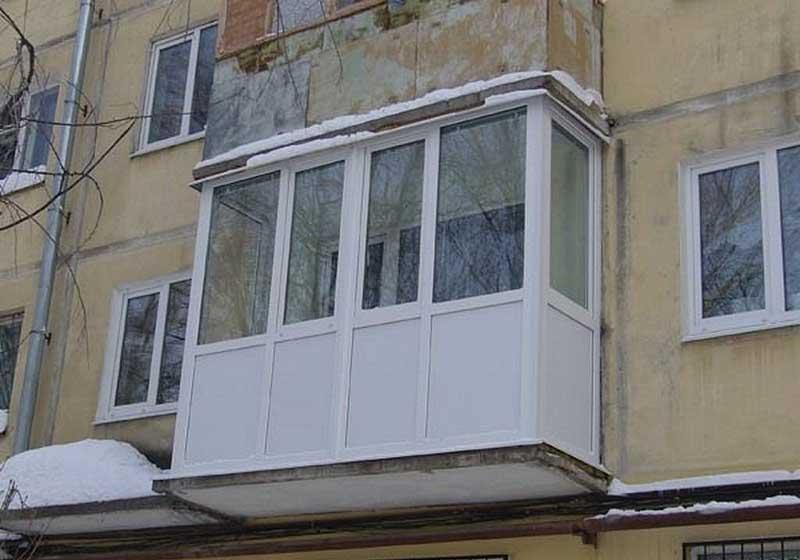Конструкции остекления балконов, определяемся с выбором