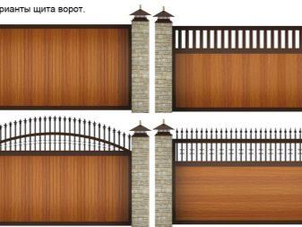 Откатные ворота: устройство, чертежи, схемы, эскизы +отзывы