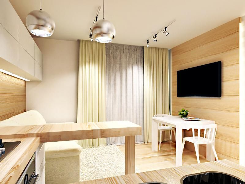 дизайн комнаты 14м2