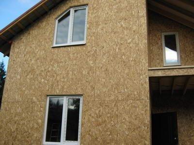 Чем отделать стены из осб внутри дома?