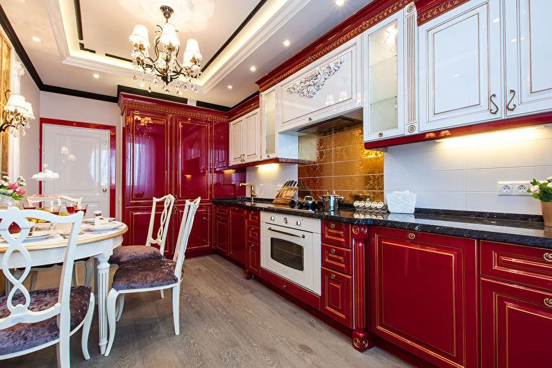 Дизайн кухни в классическом стиле (80 фото) - идеи интерьеров после ремонта, отделка
