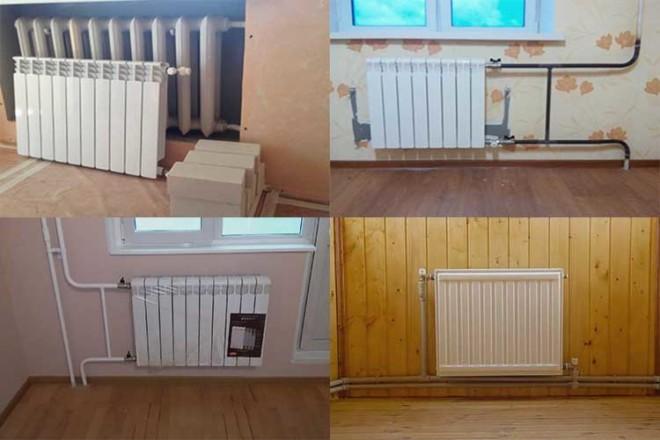 Расчет радиаторов отопления: количество, секции, мощность