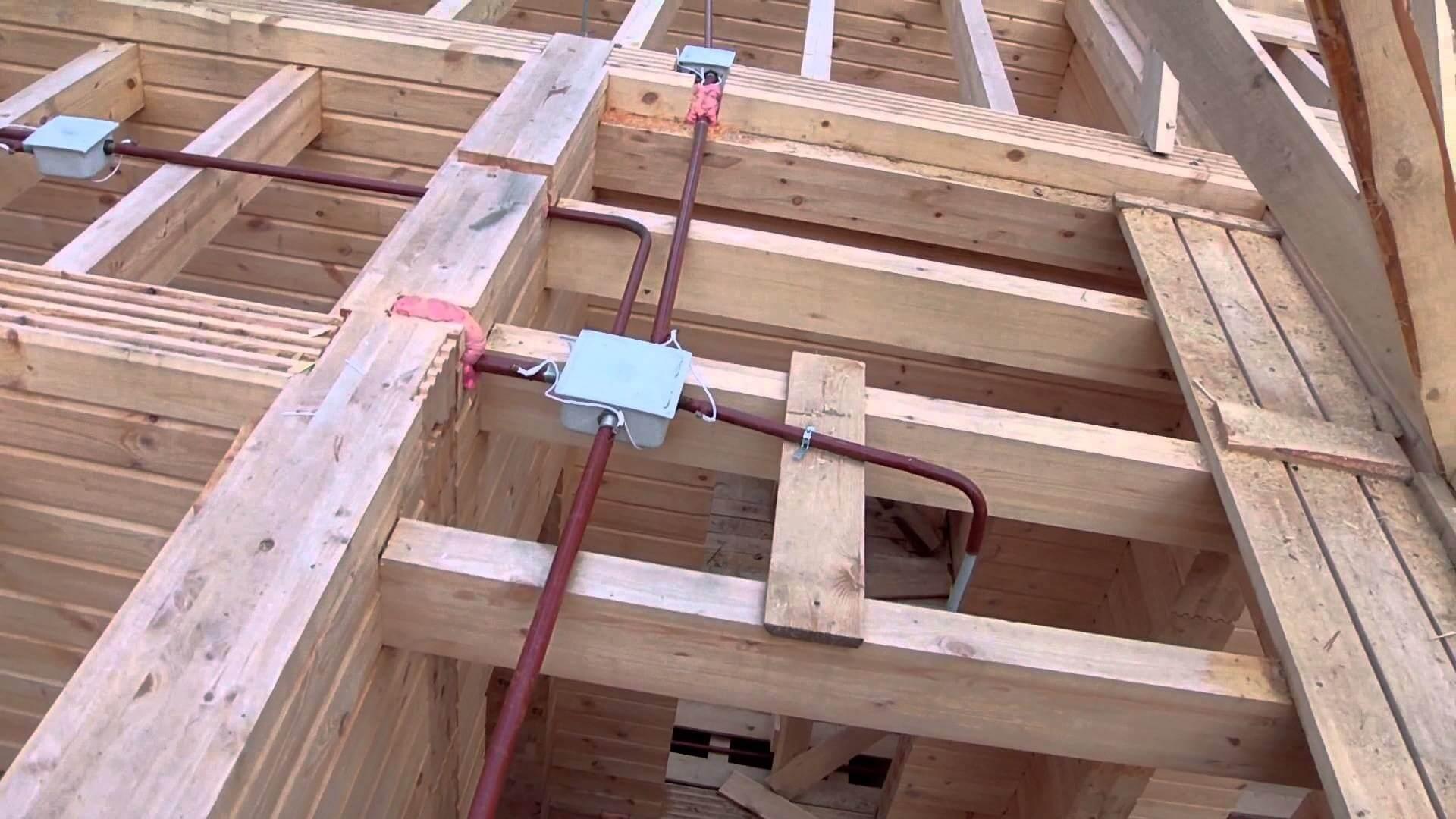 Электропроводка в трубах — основные способы монтажа
