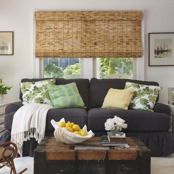 Обзор бамбуковых и рулонных бамбуковых штор на окна