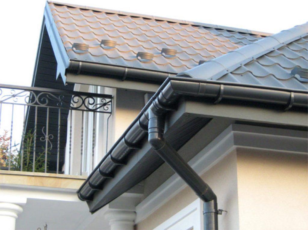 Сливная система крыши
