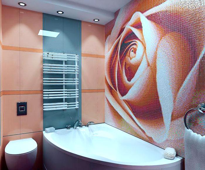 Раскладка плитки в ванной - подбор дизайна и основные варианты размещения плитки (80 фото и видео)