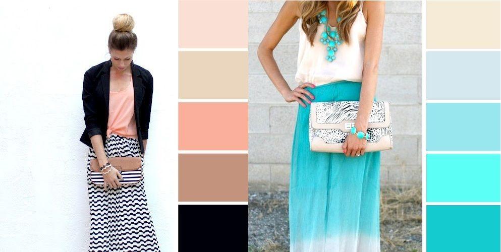 Пастельные цвета (оттенки) в одежде