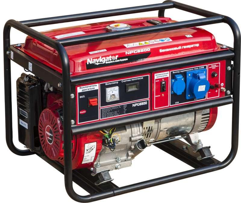 бензогенератор для дома