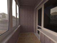 Отделка балкона мдф-панелями (33 фото): можно ли обшить своими руками, особенности обшивки