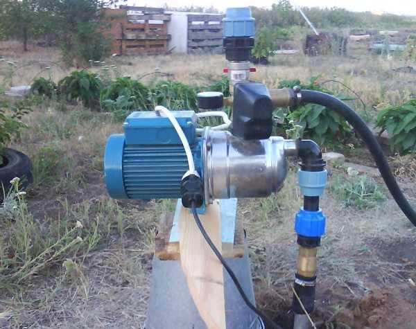 установка глубинного насоса в скважину