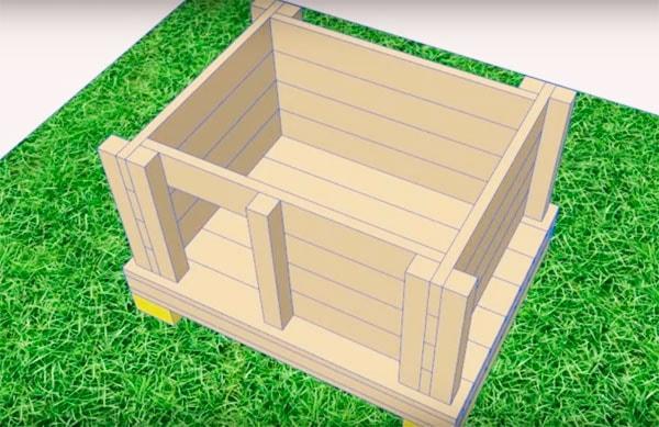 Собачья будка своими руками - 115 фото и видео изготовления домика для собаки