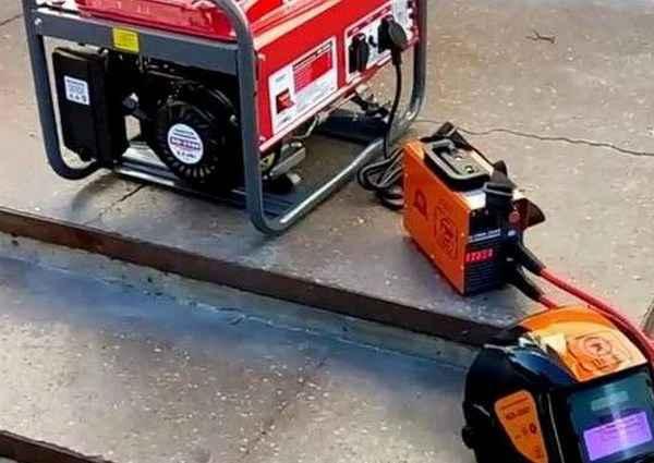 бензогенератор для сварки
