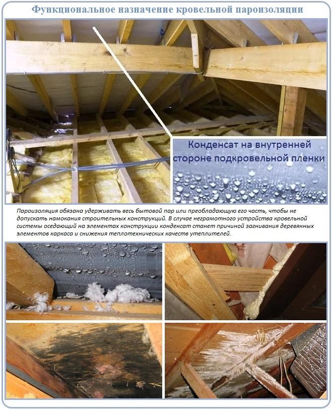 Пароизоляция для крыши: правила выбора и монтажа
