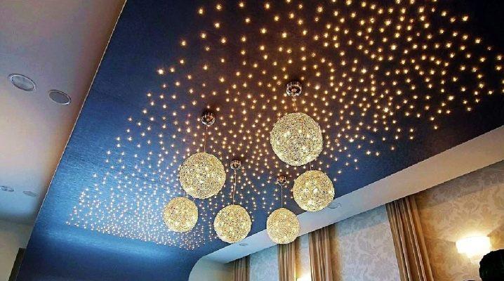 Световые линии на натяжном потолке: как делают потолки с парящими светящимися полосами