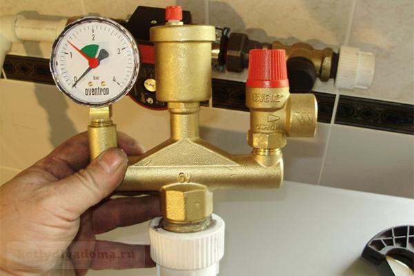 Воздухоотводчик автоматический для отопления