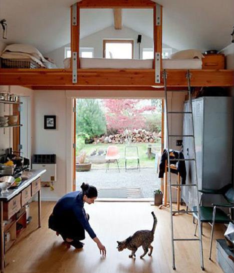 жизнь в гараже вместо квартиры