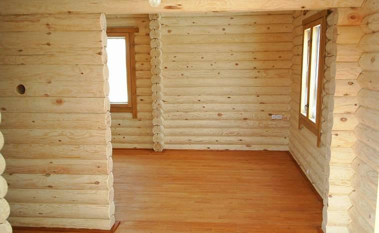 внутренняя отделка дома деревом