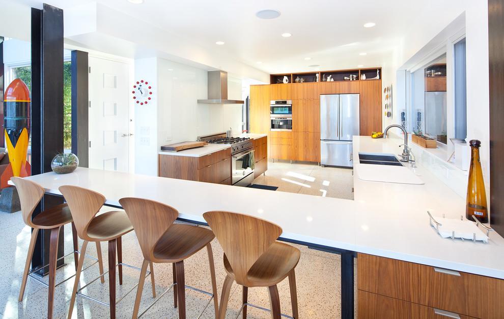 проект кухни гостиной