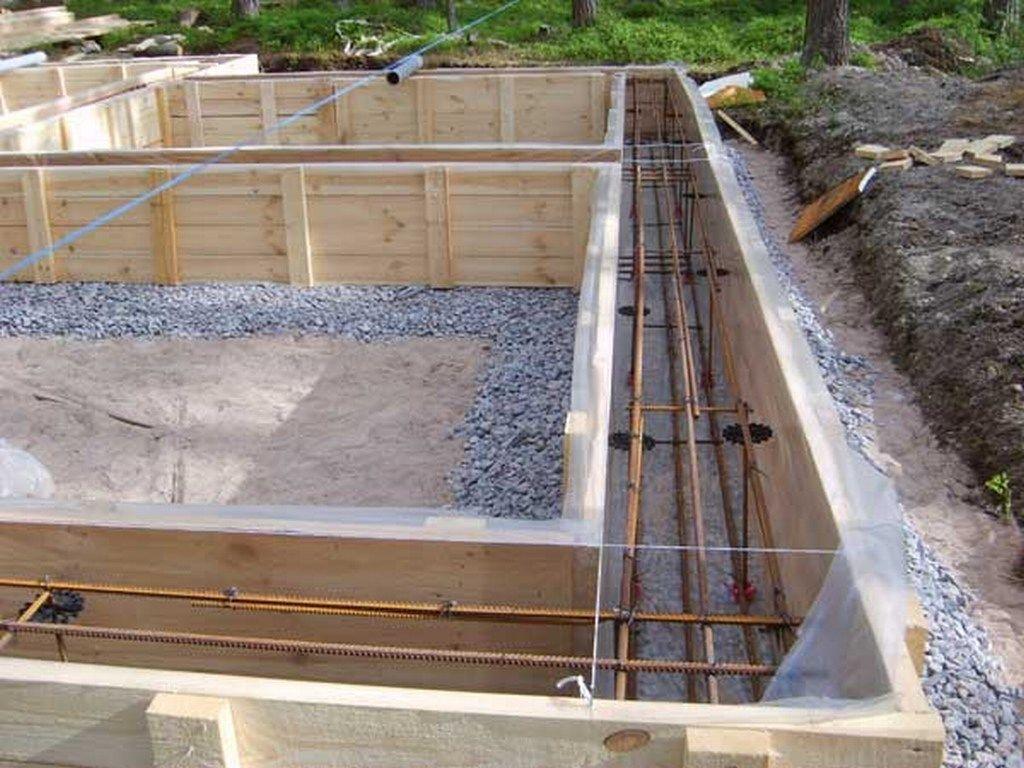 Правила разметки фундамента под дом на дачном участке