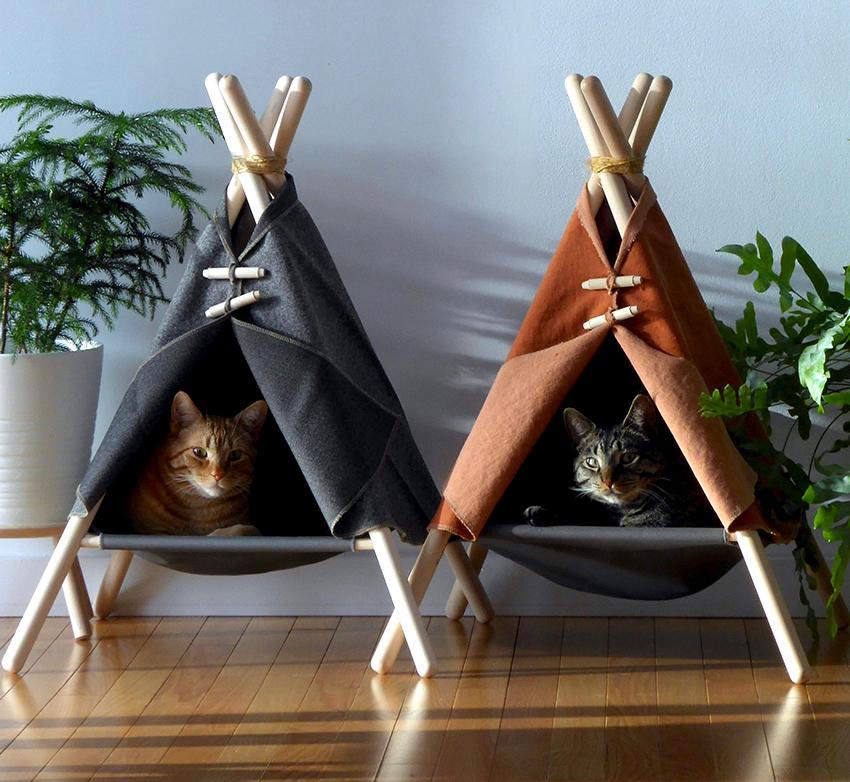 Как сделать домик для кошки своими руками - обзор лучших моделей и советы по постройке (видео + 105 фото)