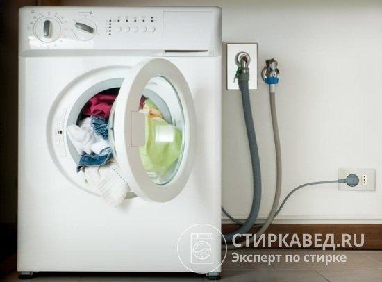 Сифон для стиральной машины: подключение слива с обратным клапаном
