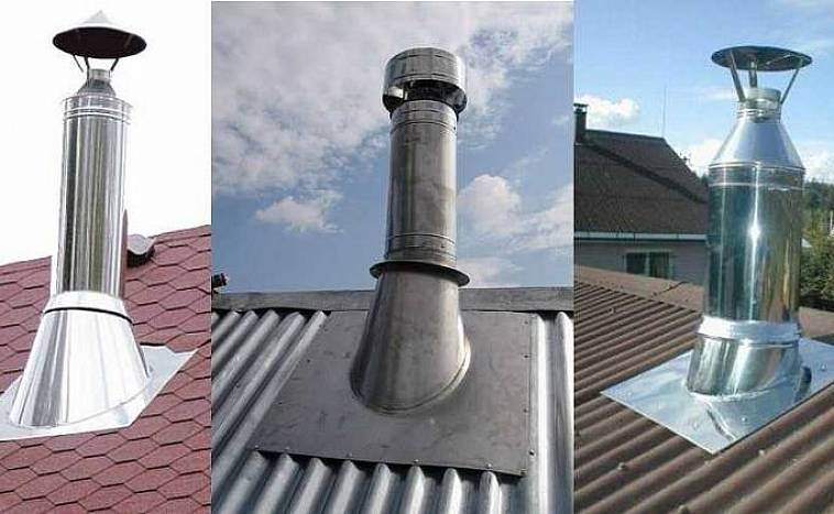 чем замазать трубу на крыше