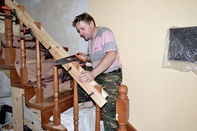 лестница из дерева своими руками