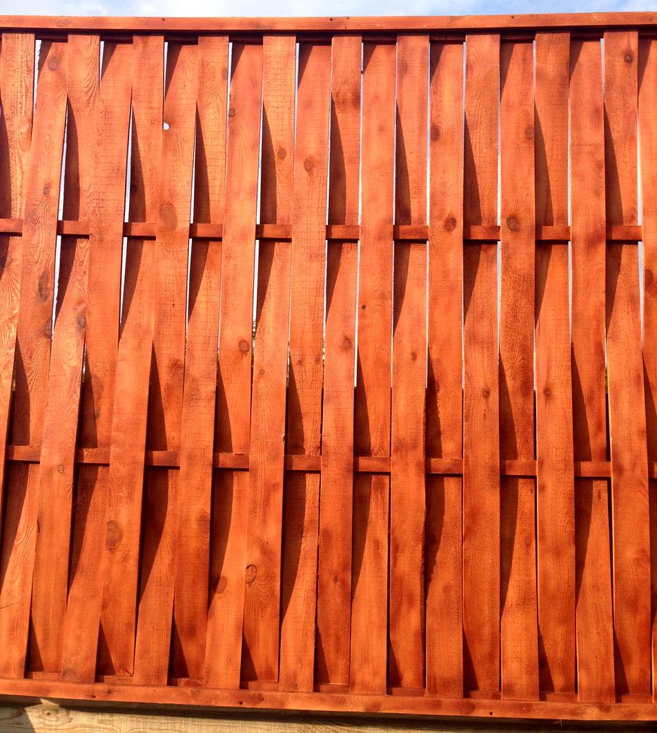 Плетеный забор своими руками