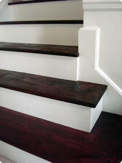 Покраска деревянной лестницы своими руками – шаг за шагом
