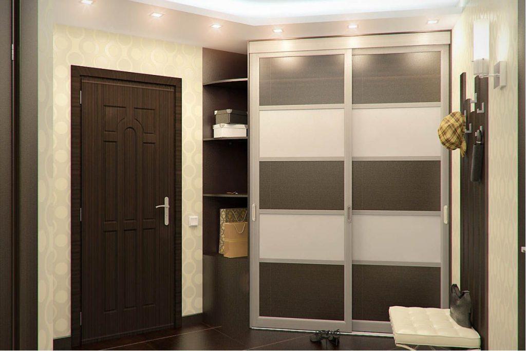 Встроенный угловой шкаф в прихожую: конструкции   какой выбрать?