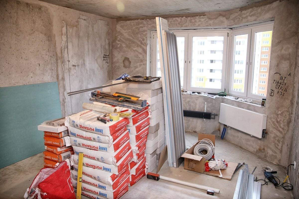 порядок выполнения ремонта в квартире