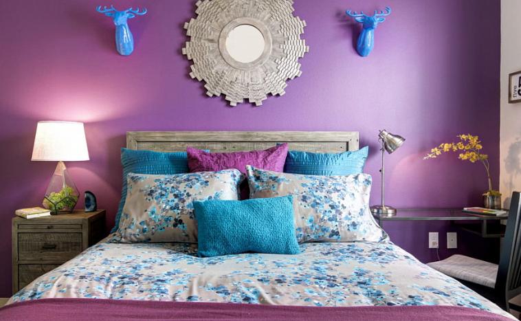 Понежьтесь в ультрафиолетовых лучах: как динамично преобразить интерьер, используя фиолетовый цвет