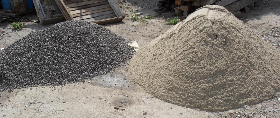 Сколько весит мешок песка: определение объема 1м3