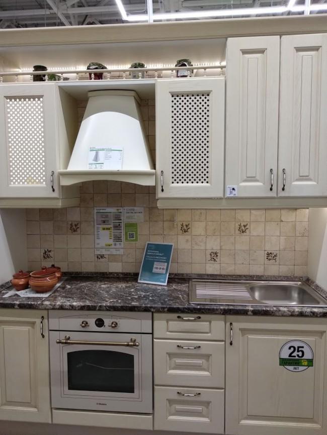 леруа мерлен готовые решения для кухни
