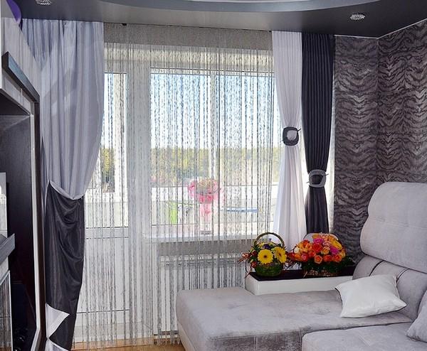 Красивые шторы в спальню: топ-100 фото новинок оригинального дизайна штор