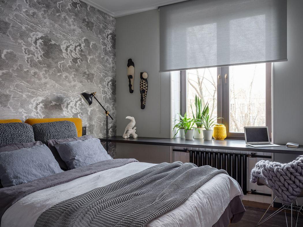 Шторы на узкие окна в интерьере жилых и нежилых помещений