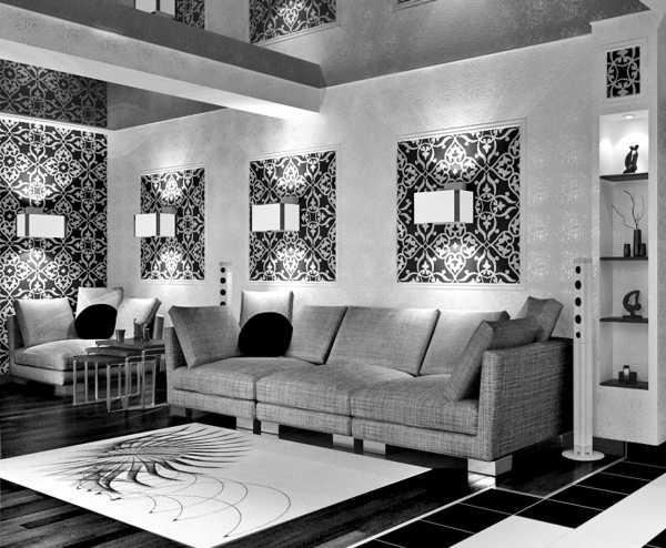 Черный цвет в интерьере: лучшие сочетания, варианты отделки и дизайна