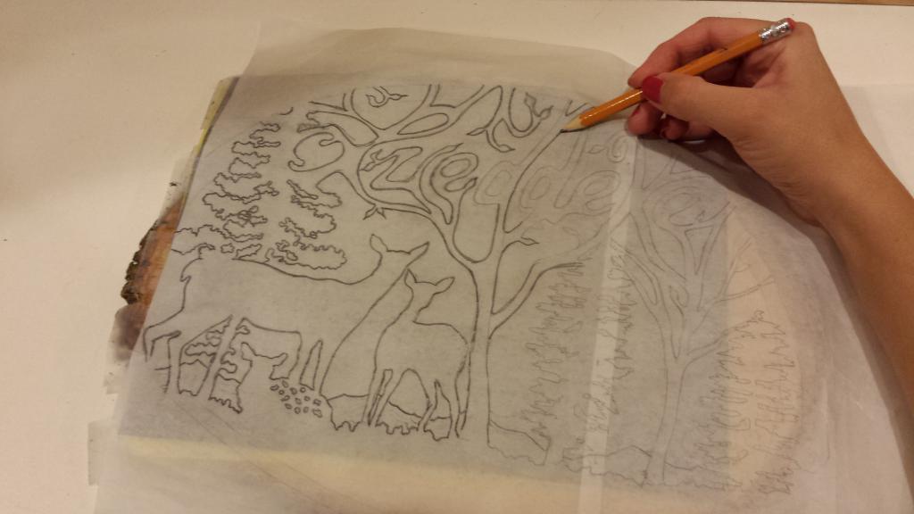 Как легко перевести рисунок с бумаги на ткань, топ-7 способов и примеры