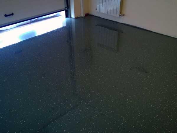 полимерный пол для гаража