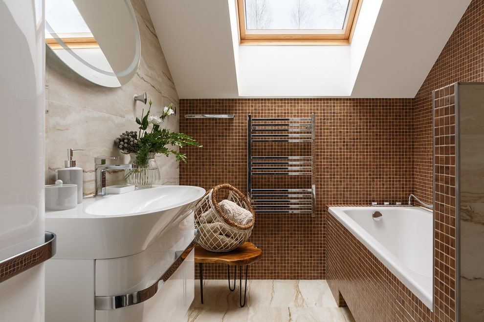 Дизайн плитки в ванной комнате в современном стиле: 80+ фото современной плитки для ванной