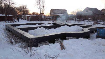 Как консервировать строящийся дом на зиму