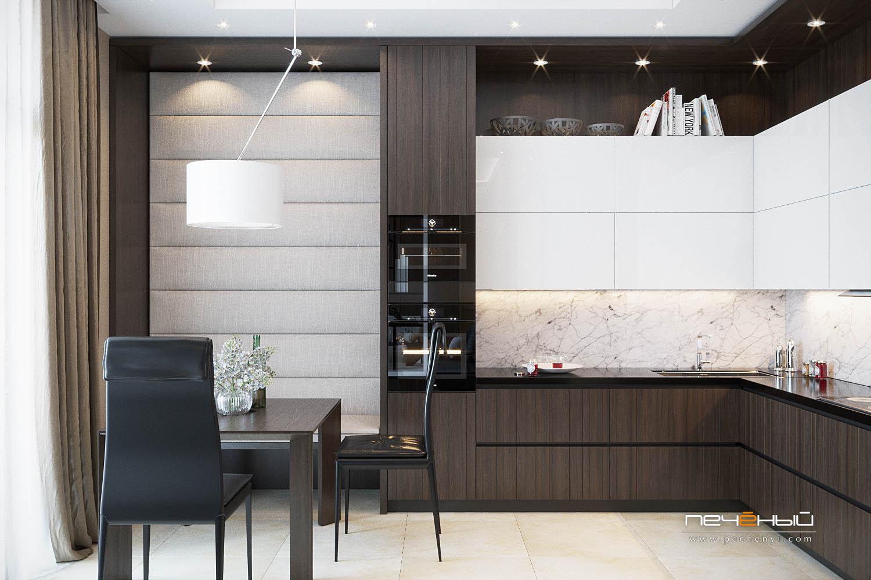 проекты кухонных гарнитуров с размерами