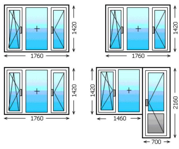 Панорамное остекление, виды и конструкции панорамного остекления, элементы панорамного окна